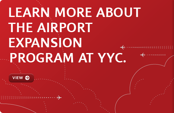 Learn about the runway & concourse under construction at YYC.