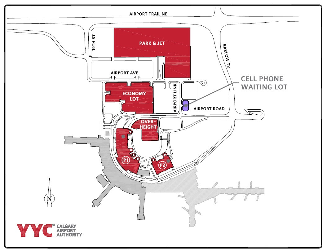 YYC Parking Map Info